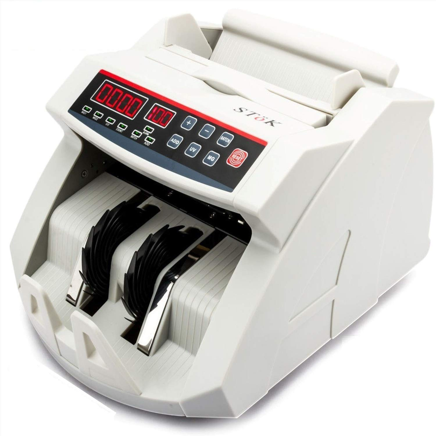 SToK (ST-MC01) Currency Counting Machine with UV/MG Counterfeit Notes