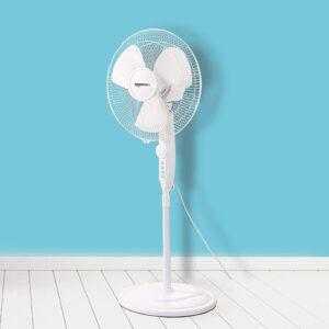 High-Speed Pedestal Fan with Automatic Oscillation AmazonBasics