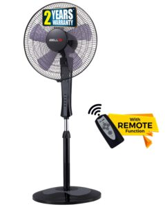 Pedestal Fan 5 Leaf with Remote iBELL WINDP10