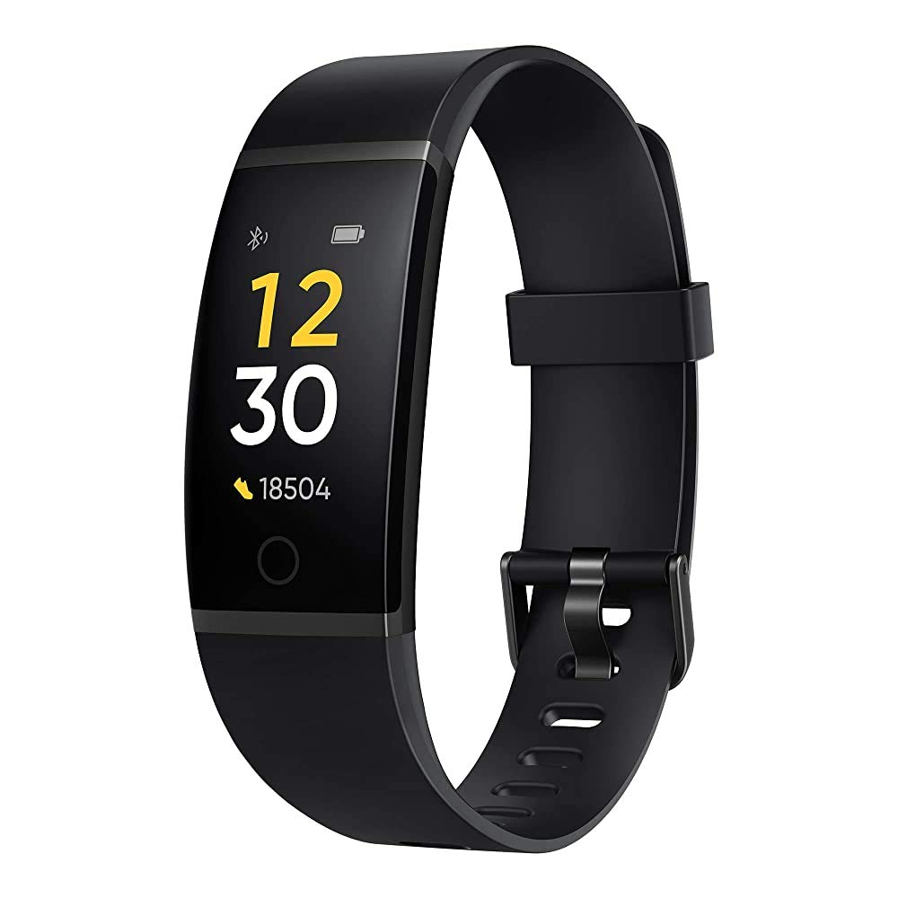 Realme Band (Black) - Full Colour Screen with Touchkey