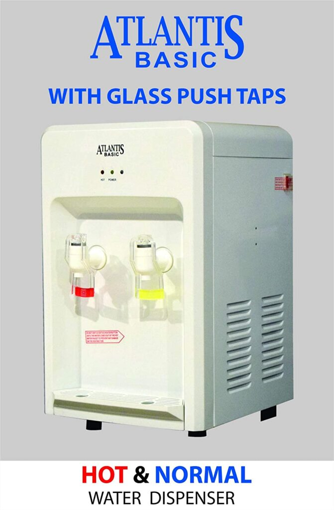 ATLANTIS Table Top Hot and Normal Water Dispenser